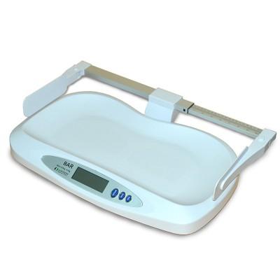 Balance pédiatrique pèse-bébé avec toise BARL- 20kg x 0.005kg