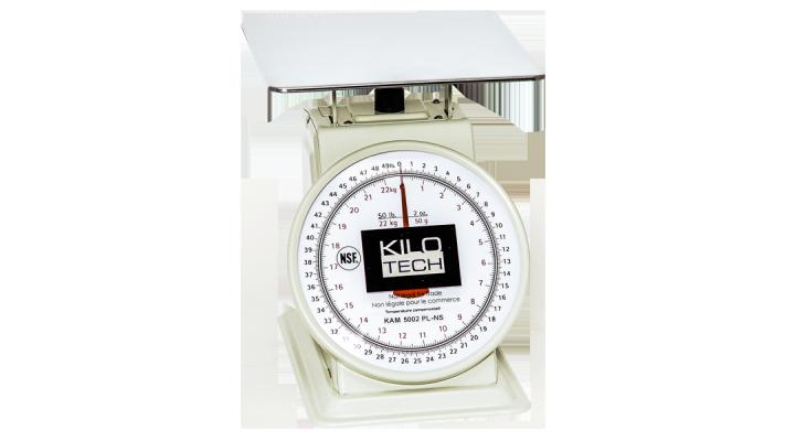 Balance à cadran mécanique - Kilotech KAM Series