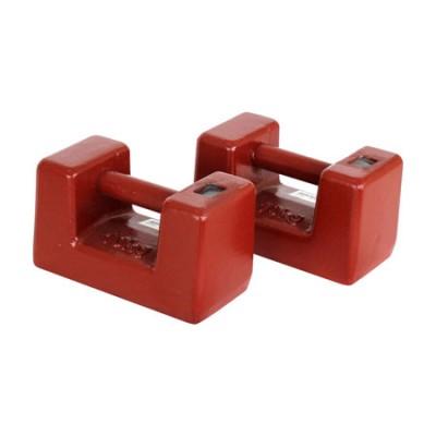 Poids de calibration individuels - 5 kg - Classe M1 - Fonte